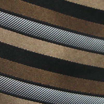 Haggar Men Sale: Tan Haggar Extra Long Woven Stripe Tie