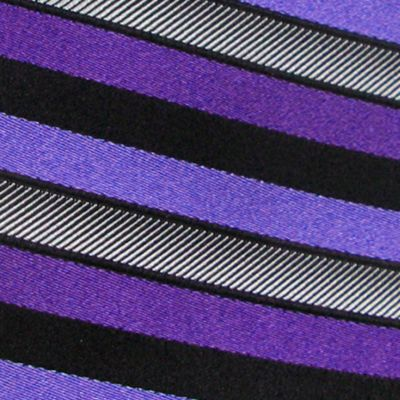 Haggar Big & Tall Sale: Plum Haggar Extra Long Woven Stripe Tie