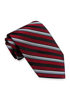 Haggar Extra Long Woven Stripe Tie
