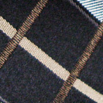Haggar Men Sale: Tan Haggar Extra Long Woven Grid Tie