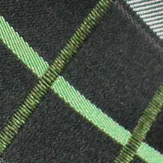 Haggar Big & Tall Sale: Green Haggar Extra Long Woven Grid Tie