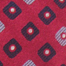 Haggar Men Sale: Red Haggar Long Neat Neck Tie