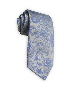 Haggar Long Paisley Neck Tie