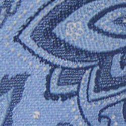 Haggar Men Sale: Blue Haggar Long Paisley Neck Tie
