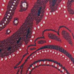 Haggar Men Sale: Red Haggar Long Paisley Neck Tie