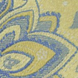 Haggar Men Sale: Yellow Haggar Long Paisley Neck Tie