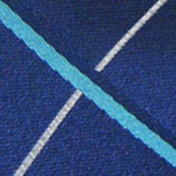 Haggar Men Sale: Blue Haggar Long Woven Grid Neck Tie