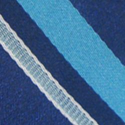 Haggar Men Sale: Blue Haggar Long Striped Neck Tie