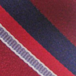 Haggar Men Sale: Red Haggar Long Striped Neck Tie