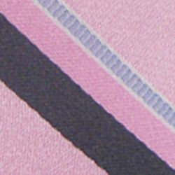 Haggar Men Sale: Pink Haggar Long Striped Neck Tie