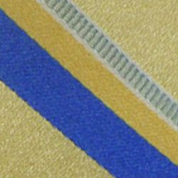 Haggar Men Sale: Yellow Haggar Long Striped Neck Tie