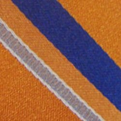 Haggar Men Sale: Orange Haggar Long Striped Neck Tie