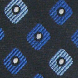 Haggar Men Sale: Black Haggar Extra Long Neat Woven Neck Tie