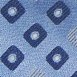 Haggar Men Sale: Blue Haggar Extra Long Neat Woven Neck Tie