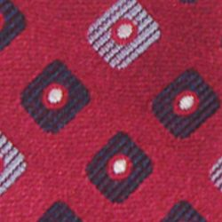 Haggar Men Sale: Red Haggar Extra Long Neat Woven Neck Tie