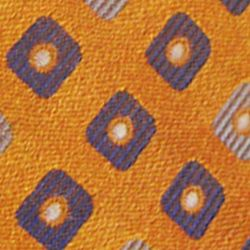Haggar Men Sale: Orange Haggar Extra Long Neat Woven Neck Tie