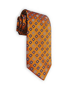 Haggar Extra Long Neat Woven Neck Tie