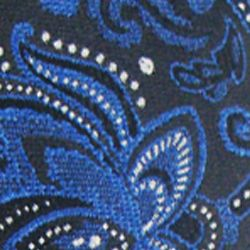 Haggar Men Sale: Black Haggar Extra Long Paisley Neck Tie