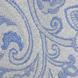 Haggar Men Sale: Gray Haggar Extra Long Paisley Neck Tie