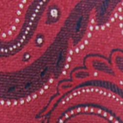 Haggar Men Sale: Red Haggar Extra Long Paisley Neck Tie
