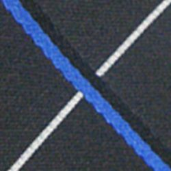 Haggar Men Sale: Black Haggar Extra Long Grid Neck Tie
