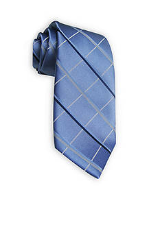 Haggar Extra Long Grid Neck Tie