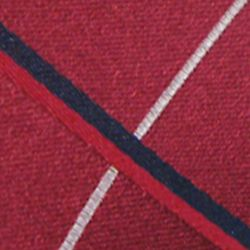 Haggar Men Sale: Red Haggar Extra Long Grid Neck Tie
