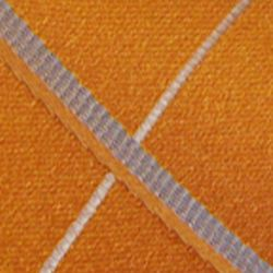 Haggar Men Sale: Orange Haggar Extra Long Grid Neck Tie
