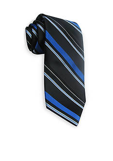 Haggar Extra Long Striped Woven Neck Tie