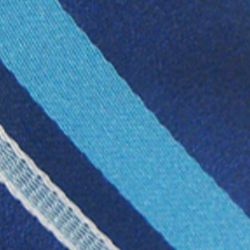 Haggar Men Sale: Blue Haggar Extra Long Striped Woven Neck Tie