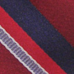 Haggar Men Sale: Red Haggar Extra Long Striped Woven Neck Tie