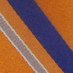 Haggar Men Sale: Orange Haggar Extra Long Striped Woven Neck Tie