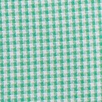 Mens Dress Shirts: Slim: Green Tallia Orange Slim-Fit Mini Gingham Dress Shirt