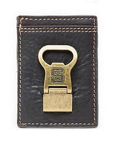 Jack Mason NC State Gridiron Multicard Front Pocket Wallet