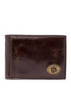 Jack Mason Clemson Legacy Flip Bifold Front Pocket Wallet