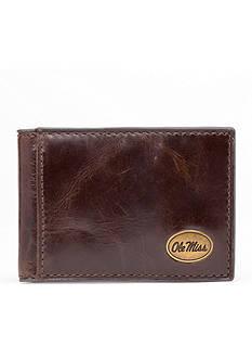 Jack Mason Ole Miss Legacy Flip Bifold Front Pocket Wallet