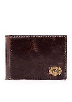 Jack Mason TCU Legacy Flip Bifold Front Pocket Wallet