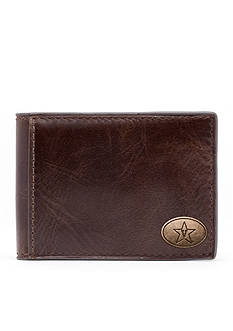 Jack Mason Vanderbilt Legacy Flip Bifold Front Pocket Wallet