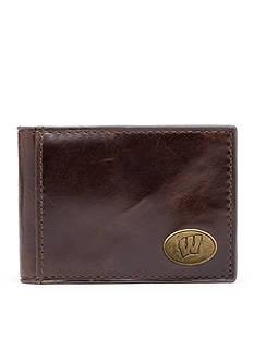 Jack Mason Wisconsin Legacy Flip Bifold Front Pocket Wallet