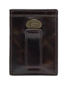 Jack Mason Georgia Legacy Multicard Front Pocket Wallet
