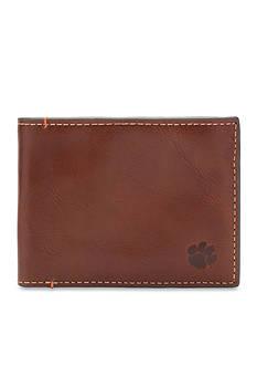 Jack Mason Clemson Hangtime Slim Bifold Wallet