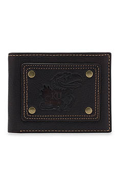 Jack Mason Kansas Gridiron Bifold Wallet