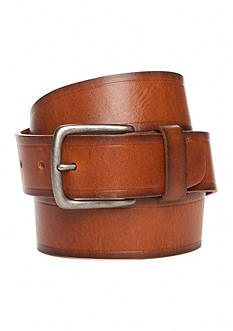 Levi's 1.50-in. Two-Toned Creased Detail Leather Belt