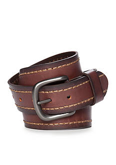 Levi's 1.57-in. Heavy Stitch Leather Belt