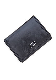 Levi's Logo Embossed Ornament Trifold Wallet