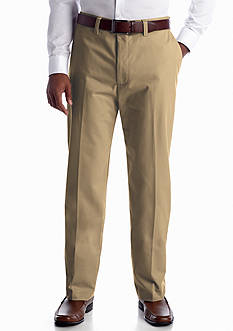 Haggar Classic-Fit Flat-Front Non-Iron Pants
