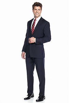 Austin Reed Navy Solid Suit