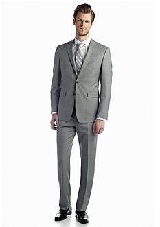 Austin Reed Light Gray Shark Suit