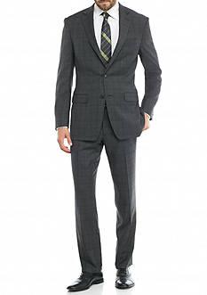Austin Reed Classic-Fit Plaid Suit