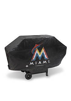Rico Industries Miami Marlins Deluxe Grill Cover
